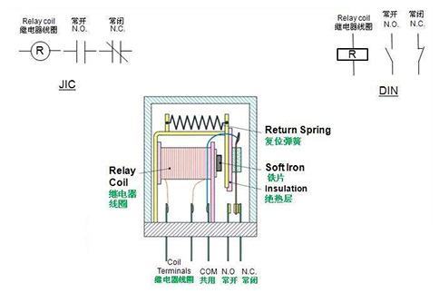 继电器接线图_继电器接线图图解